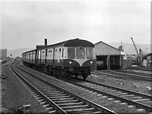 J3574 : MED set approaching Bridge End - 1977 by The Carlisle Kid
