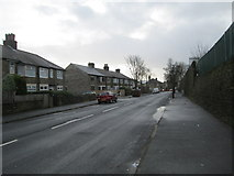 SE0724 : Westholme Road - looking towards Hopwood Lane by Betty Longbottom