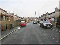 SE0724 : Gibraltar Avenue - looking towards Hopwood Lane by Betty Longbottom