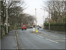 SE0724 : Warley Road - viewed from Spring Head Lane by Betty Longbottom