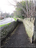 SE0724 : Footpath - Rochdale Road by Betty Longbottom