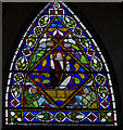 SK9771 : Resurrection window, Lincoln Cathedral by Julian P Guffogg