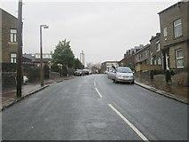 SE0724 : Stanley Road - looking towards Dunkirk Lane by Betty Longbottom