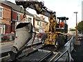 SK5236 : Digger on bogies by David Lally