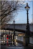 TQ3180 : South Bank Reflections, London SE1 by Christine Matthews
