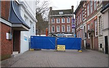 SU6351 : Resurfacing 'Top of Town' by Sandy B