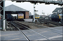 TA2609 : Grimsby Town Station by Martin Addison