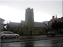 SD4464 : St Christopher's Church, Bare, Morecambe by Graham Robson