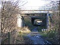NZ2556 : Old bridges over the Bowes Railway Path by Oliver Dixon