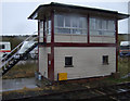 NY7606 : Signal box near Kirkby Stephen Railway Station by JThomas