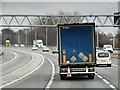 ST5881 : M5 Northbound after Junction 17 by David Dixon