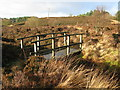 NS7972 : Moorland Footbridge by G Laird