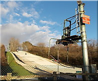 ST1477 : Ski Slope, Fairwater, Cardiff by Jaggery