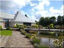 SJ3384 : Garden at The Leverhulme Hotel by Des Blenkinsopp