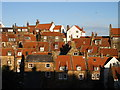 NZ9504 : Robin Hoods Bay roofscape 2 by Christopher Hall
