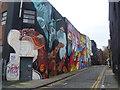 TQ3382 : Street art in Chance Street, Shoreditch by Marathon