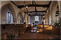TQ9825 : Brookland church Interior by Julian P Guffogg