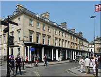 ST7464 : 1-6 Wood Street, Bath by Stephen Richards
