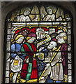 TF2157 : East Window detail, Holy Trinity church, Tattershall by J.Hannan-Briggs