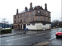 NS3252 : Glengarnock Co-op building by Thomas Nugent
