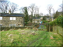 SE0721 : Stile on Elland FP52 at Brook Row by Humphrey Bolton