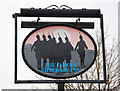 SP2474 : The Tipperary (2) - sign, Meer End, near Solihull by P L Chadwick