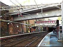 NS2776 : Greenock West railway station by Thomas Nugent