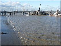 TQ6674 : Denton Wharf by Marathon