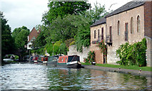 SO8171 : The Staffordshire and Worcestershire Canal  in Stourport, Worcestershire by Roger  Kidd
