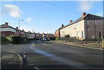 SE0726 : Denfield Crescent - Ovenden Way by Betty Longbottom