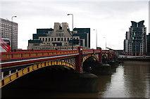 TQ3078 : Vauxhall Bridge by Julian Osley