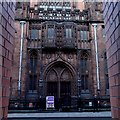 SJ8398 : John Rylands Library across Deansgate by Andrew Hill