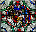 TR1557 : Detail of Window s.XVI, Canterbury Cathedral by Julian P Guffogg