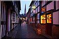SO7137 : Church Lane, Ledbury by Ian Taylor