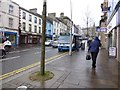 H4572 : Street scene, Omagh by Kenneth  Allen