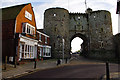 TQ9220 : The Landgate, Rye by Ian Taylor