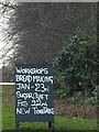 TM4373 : Advertising Board for The New Round House by Geographer