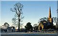 SP4158 : All Saints church, Ladbroke by Greg Fitchett