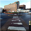ST3187 : Pedestrian crossing to the Royal Gwent Hospital, Newport by Jaggery