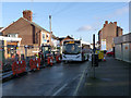 SK5236 : ShopLink bus on Chilwell High Road by Alan Murray-Rust
