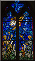 TQ6836 : John Piper Window, St Mary's church, Lamberhurst by Julian P Guffogg