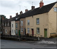 ST7593 : Old Town houses, Wotton-under-Edge by Jaggery
