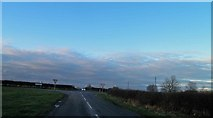 TF2880 : Junction of Bluestone Heath Road with the A153 by Steve  Fareham