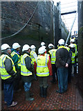 SO9969 : Worcester & Birmingham Canal - inside Tardebigge top lock by Chris Allen