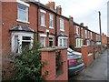 SK8152 : Ivy Cottages, west side, London Road by Christine Johnstone
