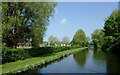 SJ8902 : Shropshire Union Canal at Pendeford, Wolverhampton by Roger  Kidd