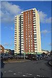 SJ9400 : Tower Block in Wednesfield by John M