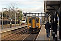 SJ4991 : Northern Rail Class 156, 156441, Rainhill railway station by El Pollock