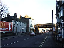 TQ7369 : London Road, Strood by Chris Whippet