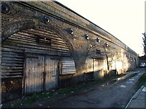 TQ7369 : Railway Arches, Strood by Chris Whippet
